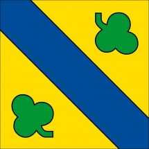Gemeindefahne 2829 Val Terbi (Vermes)