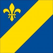 Gemeindefahne 2932 Coeuve