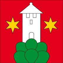Gemeindefahne 3622 Homberg b. Thun