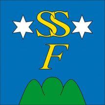 Gemeindefahne 3906 Saas-Fee