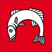 Gemeindefahne 5525 Fischbach-Göslikon