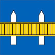 Drapeau commune 6038 Gisikon