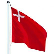 Kantonsfahne klassisch Schwyz Superflag® 200x200 cm