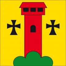Gemeindefahne 6182 Escholzmatt-Marbach (Escholzmatt Wappen)