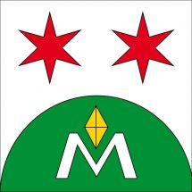 Gemeindefahne 7138 Mundaun (Surcuolm)
