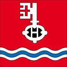 Gemeindefahne 7438 Hinterrhein