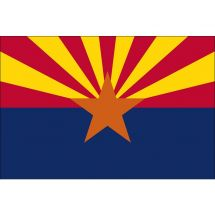 Fahne Bundesstaat Arizona USA Polyester 100x70 cm