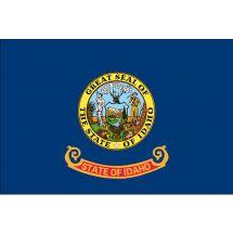 Fahne Bundesstaat Idaho USA Polyester 75x50 cm
