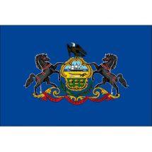 Fahne Bundesstaat Pennsylvania USA Polyester 150x100 cm