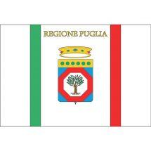Fahne Region Apulien Italien Polyester 75x50 cm