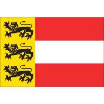 Fahne Bundesland Kärnten Österreich Polyester 75x50 cm