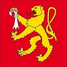 Gemeindefahne 4246 Wahlen b. Laufen Superflag® 120x120 cm