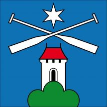 Gemeindefahne 5044 Schlossrued Superflag® 80x80 cm