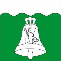 Gemeindefahne 6465 Unterschächen Superflag® 150x150 cm