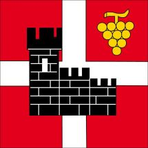 Gemeindefahne 6518 Gorduno Superflag® 120x120 cm
