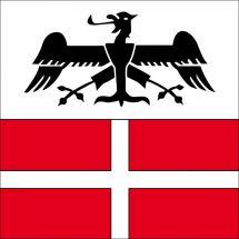 Gemeindefahne 6525 Gnosca Superflag® 80x80 cm