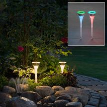 Solar LED Dekoleuchten «RGB», 4er Set