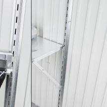 biohort Regalsteher 2 Stück passend zu Gerätehaus «AvantGarde»