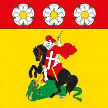 Gemeindefahne 1720 Corminboeuf
