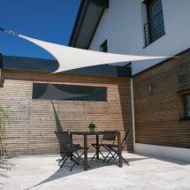 Dreieck-Sonnensegel Parasol, «weiss»
