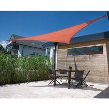 Dreieck-Sonnensegel Parasol, «terracotta»