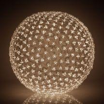 LED Lichtkugeln «Star» 300 LED warm-weiss Ø 45 cm