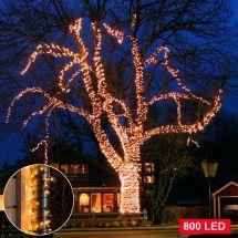 LED Micro-Lichterkette 800 sunny-warm LED