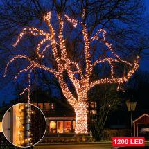 LED Micro-Lichterkette 1200 suny-warm LED