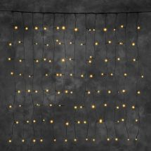 Rideau lumineux LED «STAR NEO-sc» 100 LED ambre 100×100 cm