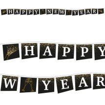 Fahnenkette «Happy New Year»
