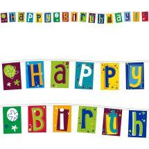 Fahnenkette «Happy Birthday»