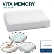 billerbeck EDITION Nackenstützkissen «Vita Memory» inkl. Kissenbezug 50x70 cm