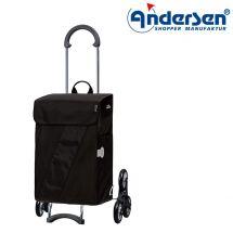 Andersen Shopper «Treppensteiger», schwarz