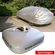 Automatische Autoabdeckung Sportwagen