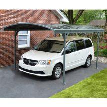 Carport «Solid» mit gewölbtem Dach, 501×291×239 cm