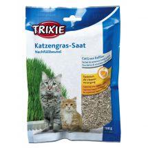 Nachfüllbeutel Katzengras mit 100 g Gras-Saat