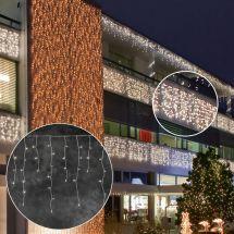LED Eisregenkette «STAR NEO-ww»