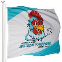 Sportfahne Schatrine Bellach Superflag® 150x150 cm