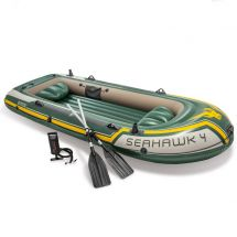 INTEX Schlauchboot Set «Seahawk» 4 Personen