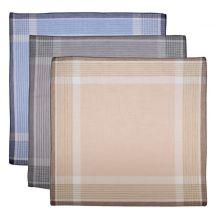 Herrentaschentücher, 10 Stück 40x40 cm