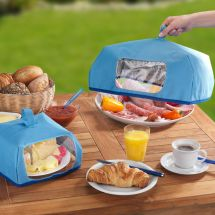 Hotte de protection pour aliments «Thermo», Set de 2