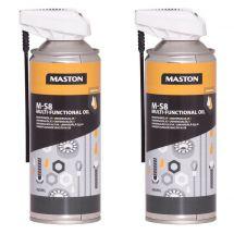 Maston M-S8 Multifunktionalschmiermittel, 400 ml, Duo Pack