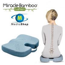 Mediashop Coussin d'assise ergonomique «Miracle Bamboo Cushion»