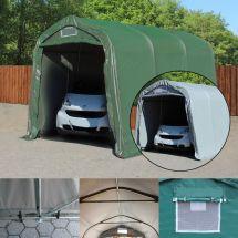 Tente-garage 2,4×3,6 m «Montage terre»