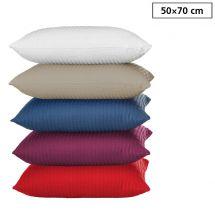 Bettwäsche Kissenbezug «UNI» 50x70, Seersucker