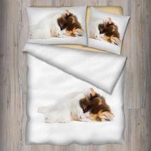 Bettwäsche Garnitur «Katze», Renforcé