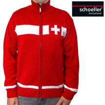 Strickjacke «Switzerland»