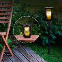 Solar LED «Fackel» mit Flackerlicht