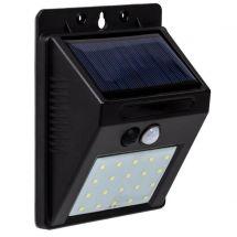 Solar LED Wand- und Treppenspot mit Bewegungsmelder, 4er Set