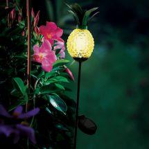 Solar LED Leuchte «Ananas»